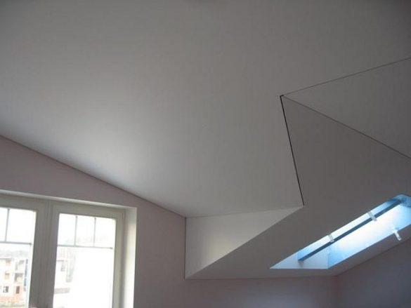 матовый натяжной потолок недорого изображение