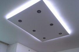 парящий натяжной потолок купить недорого могилев фотография