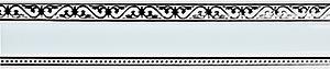 карниз монарх белый фотография