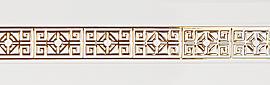 карниз амулет бело-золотой фотография