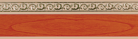 карниз флора коричневый фотография