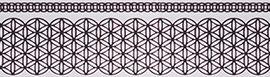 карниз ажур черно-белый фото